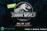 New Jurassic World Online Slot Coming In June 2017