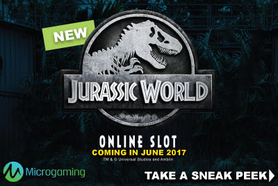 New Jurassic World Online Slot Coming In June 2017