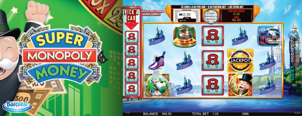 Monopoly Super Money Mobile Slot Game