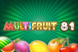 Multifruit 81 Mobile Slot Logo