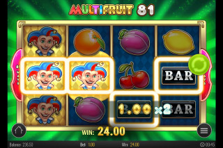 Multifruit 81 Mobile Slot Wild Win