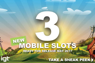 Take A Look At New IGT Games In May 2017