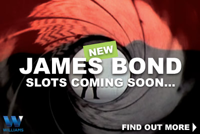 New WMS James Bond 007 Slots Coming Soon
