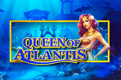 Queen of Atlantis Mobile Slot Logo