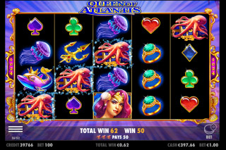 Queen of Atlantis Mobile Slot Super Spins