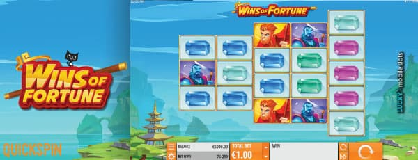 Quickspin Wins Of Fortune Slot Game