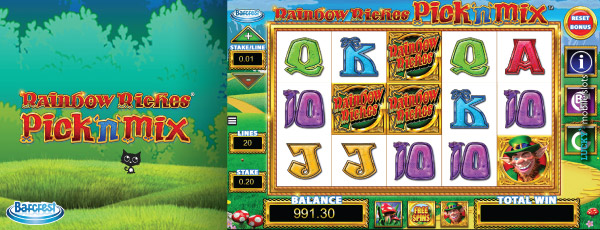 Rainbow Riches Pick N Mix Slot On Mobile