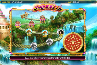 Shangri La Mobile Slot Trail Bonus