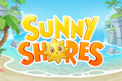 Sunny Shores Mobile Slot Logo