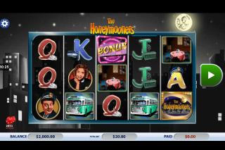 The Honeymooners Mobile Slot Machine