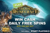 Play Viking Runecraft To Win Cash & Free Spins Daily