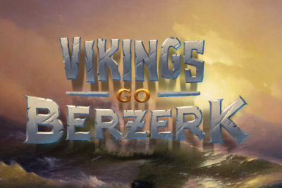 Vikings Go Berzerk Mobile Slot Logo