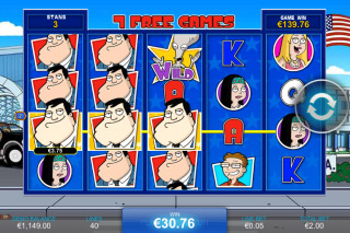 American Dad Mobile Slot Free Spins