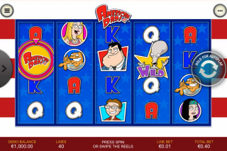 American Dad Mobile Slot Machine