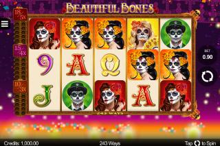 Beautiful Bones Mobile Slot Machine