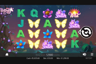 Butterfly Staxx Mobile Slot Machine