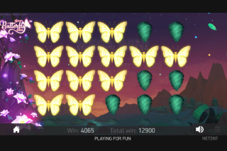 Butterfly Staxx Mobile Slot Sticky Wilds