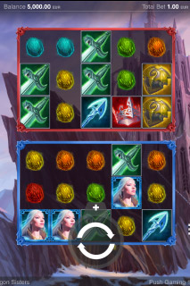 Dragon Sisters Mobile Slot Machine