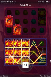 Dragon Sisters Mobile Slot Wild Win
