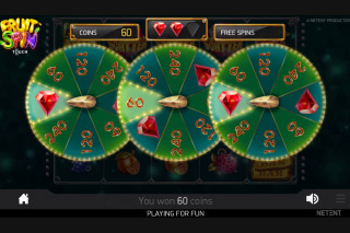 Fruit Spin Mobile Slot Lucky Wheel Feature