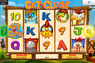 Get Clucky Mobile Slot Game
