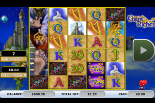 Giant Riches Mobile Slot Free Spins Bonus