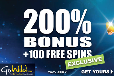 Go Wild Mobile Casino 30 No Deposit Spins