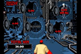 Hellboy Mobile Slot Click Me Bonus