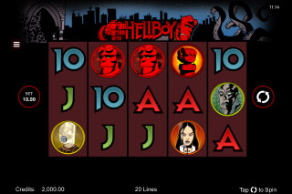 Hellboy Mobile Slot Machine