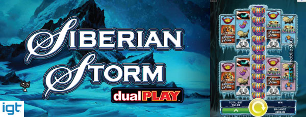 IGT Siberian Storm Dual Play Mobile Slot