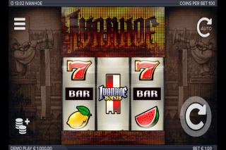 Ivanhoe Mobile Slot Machine