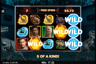 Jurassic World Mobile Slot Machine