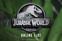 Jurassic World Mobile Slot Logo