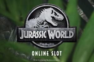 Jurassic World Mobile Slot Logo