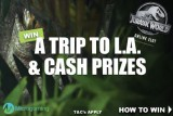 Win A Trip To L.A. & Real Money Cash With Jurassic World Slot