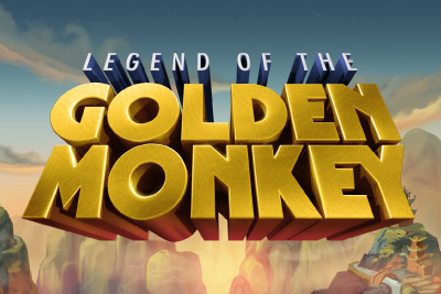 Legend of the Golden Monkey Slot Logo