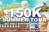 Get Daily Bonuses In The LeoVegas Casino Summer Tour