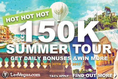 Get Daily Bonuses In The LeoVegas Casino Summer Tour