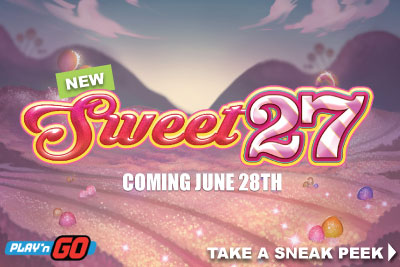 New Sweet 27 Slot Machine On Mobile Coming June 2017