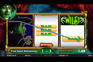 Road To Emerald City Mobile Slot Bonus Game