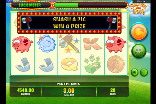 Smash The Pig Mobile Slot Bonus Game