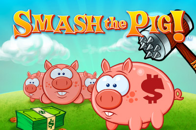 Smash The Pig Mobile Slot Logo
