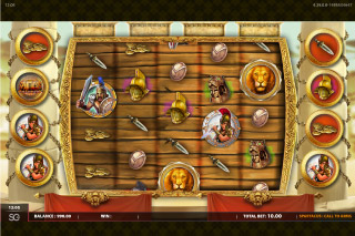 Spartacus Call To Arms Mobile Slot Screenshot