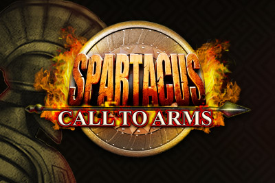 Spartacus Call To Arms Mobile Slot Logo