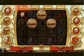 Spartacus Call To Arms Mobile Slot Wilds