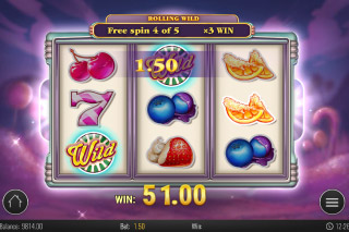 Sweet 27 Mobile Slot Free Spins Win