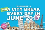 Win A City Break With £€$20 In June At VeraJohn Mobile Casino