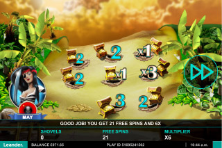 Wild Jane Mobile Slot Click Me Bonus