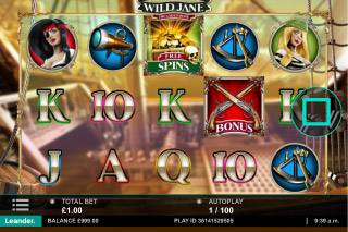 Wild Jane Mobile Slot Machine