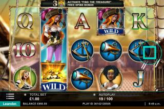 Wild Jane Mobile Slot Stacked Wild